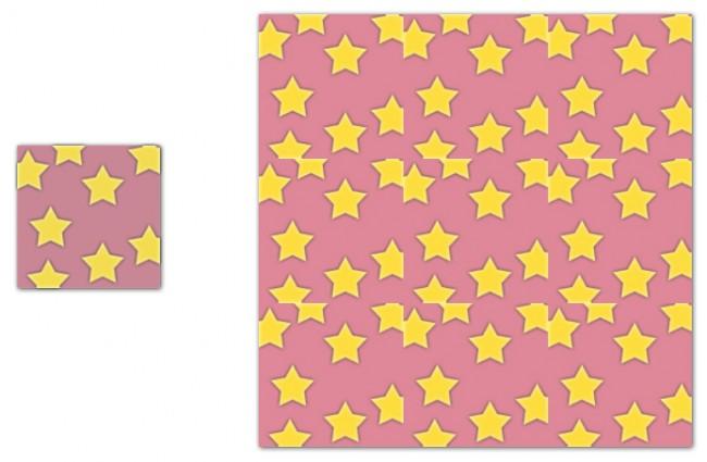 Stjerner fyll kombo