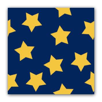 Stjerner pa blatt ferdig bildeflis