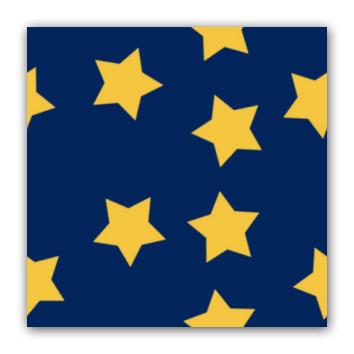 Stjerner pa blatt med flytt