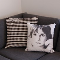 The album cover pillow