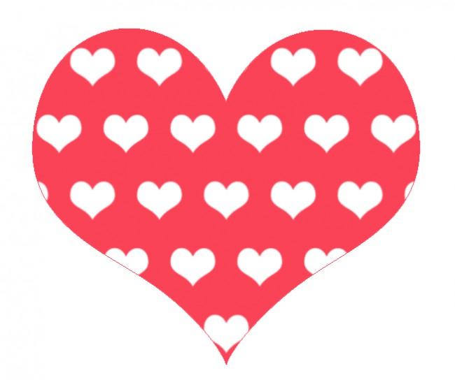 Hjerte med hjerter 2