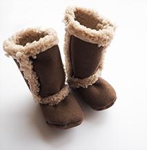 Sy tøffe baby-uggs i vinter